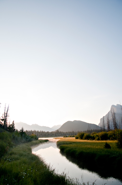 Banff at Sunrise | Just Rhonda