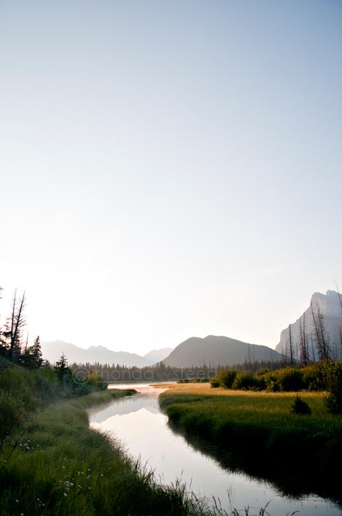 Banff at Sunrise | Just Rhonda